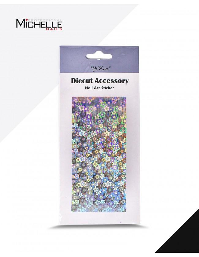 Nail art e decorazioni per unghie: HOLO Nail art stickers - adesivi T230 ADESIVI STICKERS