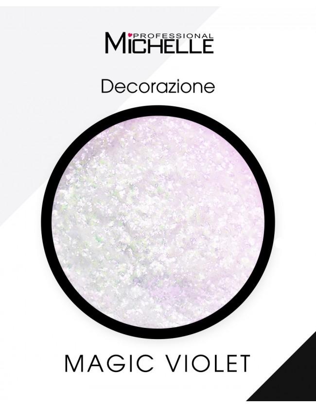Nail art e decorazioni per unghie: Pigmento Magic Powder - VIOLET MAGIC POWDER