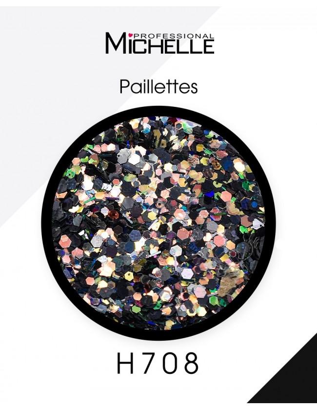 Nail art e decorazioni per unghie: Paillettes Darky Mix - H708 GLITTER E PAILLETTES