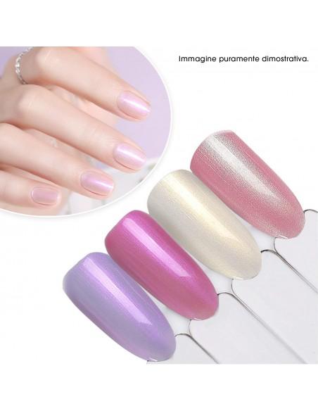 Accessori per unghie Espositore Tips ad Anello Trasparente Mandorla - 50pz Uso professionale nails