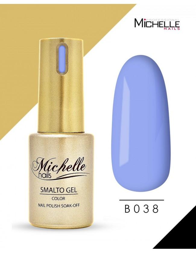 smalto semipermanente colore per unghie Michellenails SMALTO GEL SEMIPERMANENTE GOLD B038