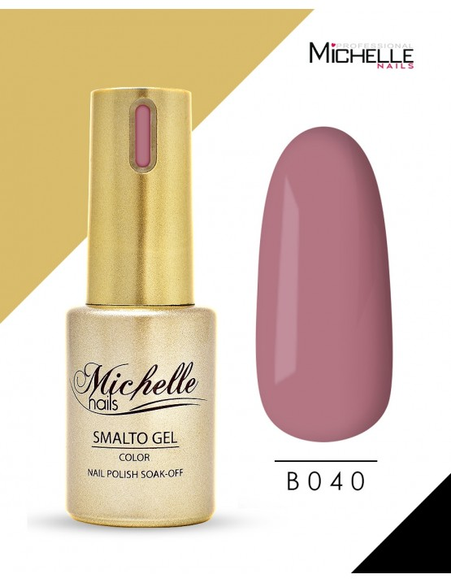 smalto semipermanente colore per unghie Michellenails SMALTO GEL SEMIPERMANENTE GOLD B040