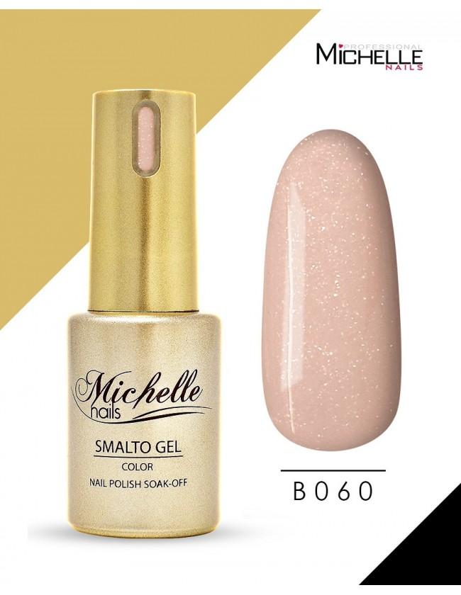 smalto semipermanente colore per unghie MichelleNails SMALTO GEL SEMIPERMANENTE GOLD B060