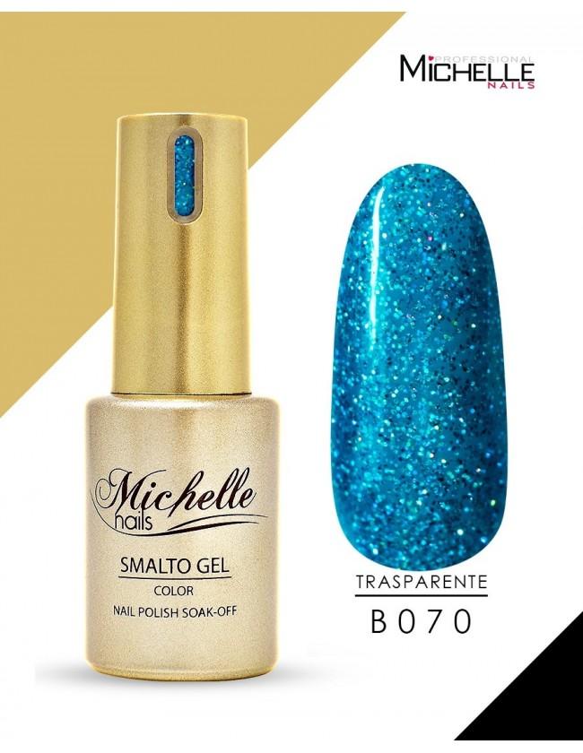 smalto semipermanente colore per unghie Michellenails SMALTO GEL SEMIPERMANENTE GOLD B070