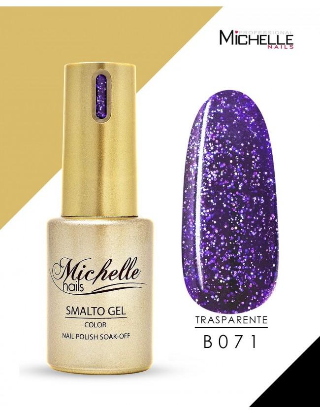 smalto semipermanente colore per unghie Michellenails SMALTO GEL SEMIPERMANENTE GOLD B071