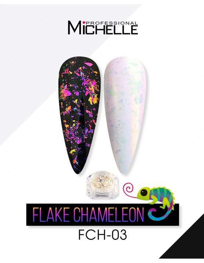 Nail art e decorazioni per unghie: FLAKE CHAMELEON - 03 FLAKE CHAMELEON