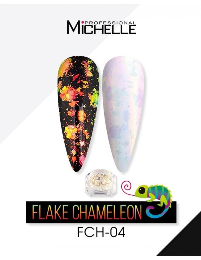 Nail art e decorazioni per unghie: FLAKE CHAMELEON - 04 FLAKE CHAMELEON