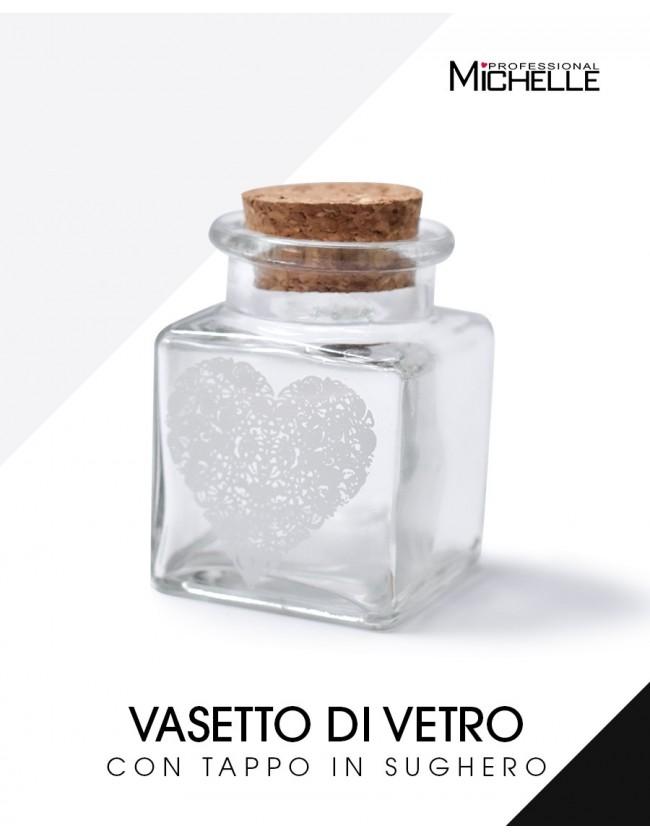 ricostruzione in gel per unghie VASETTO IN VETRO CON TAPPO IN SUGHERO per monomero uso professionale