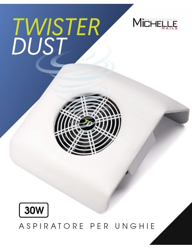 apparecchiatura uso professionale per unghie,  Aspiratore TwisterDust da tavolo 30W Bianco
