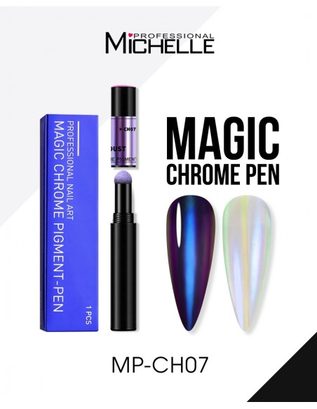 Nail art e decorazioni per unghie: Magic Pen Powder Chrome CH07 POLVERE CHROME