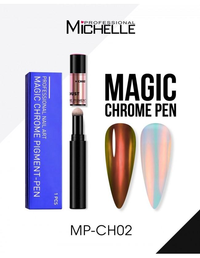Nail art e decorazioni per unghie: Magic Pen Powder Chrome CH02 POLVERE CHROME