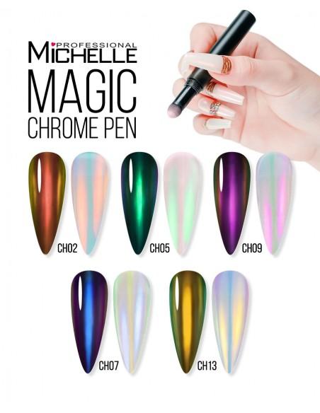Nail art e decorazioni per unghie: Magic Pen Powder Chrome CH13 POLVERE CHROME
