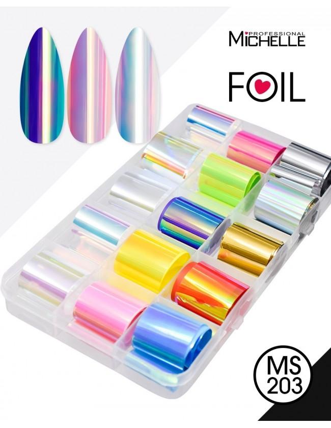 Nail art e decorazioni per unghie: Glass Foil MS203 FOIL- DECORAZIONI- FILI