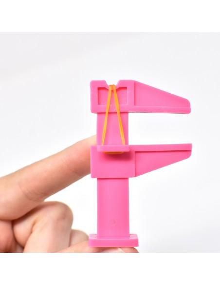 Accessori per unghie Morsetto pinza per curva C - ROSA Uso professionale nails