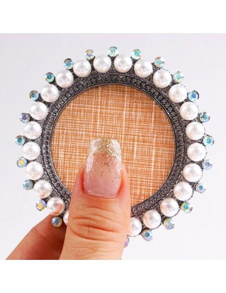 Accessori per unghie BASE SUPPORTO PER POGGIA TIPS CON STRASS Uso professionale nails