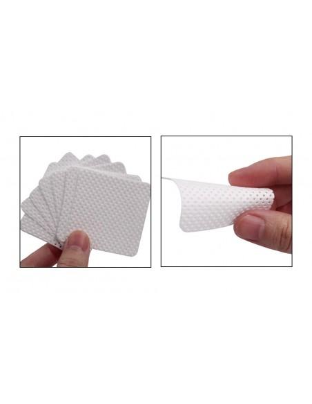 Accessori per unghie NAIL WIPES - SALVIETTE PADS PROFESSIONALI SENZA PELUCCHI -180pz Uso professionale nails