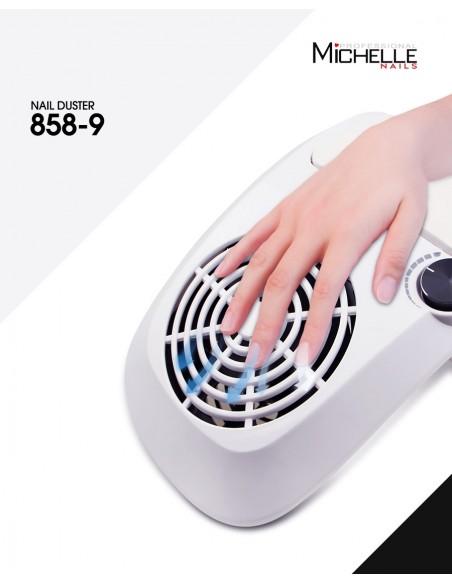 apparecchiatura uso professionale per unghie,  ASPIRATORE COMPATTO CON POGGIAMANI BIANCO 40W