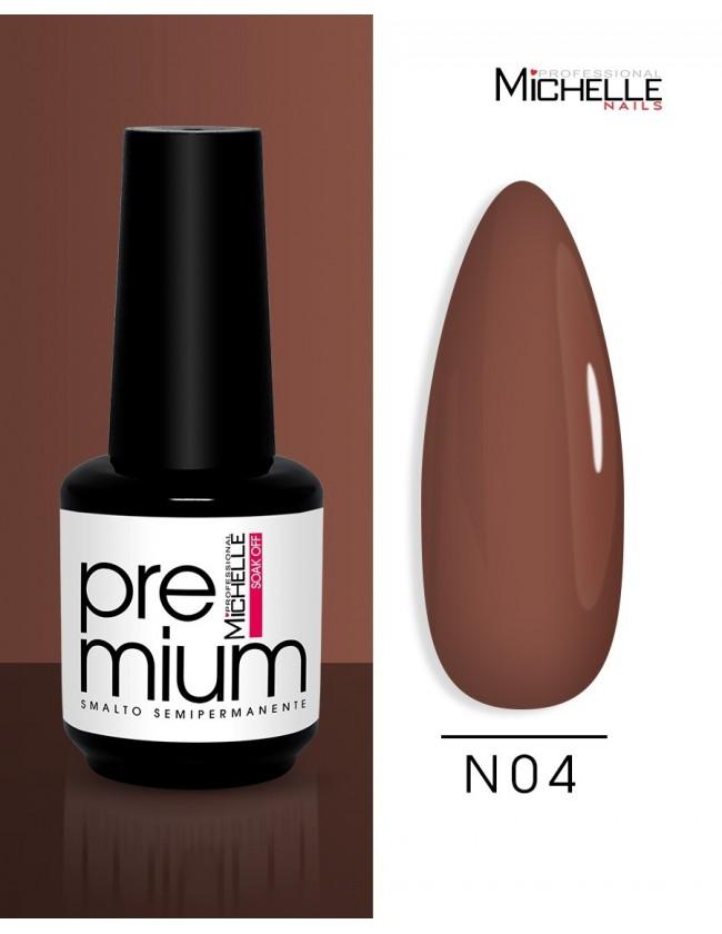smalto semipermanente colore per unghie Michellenails Premium Smalto Semipermanente N04 - 15ml