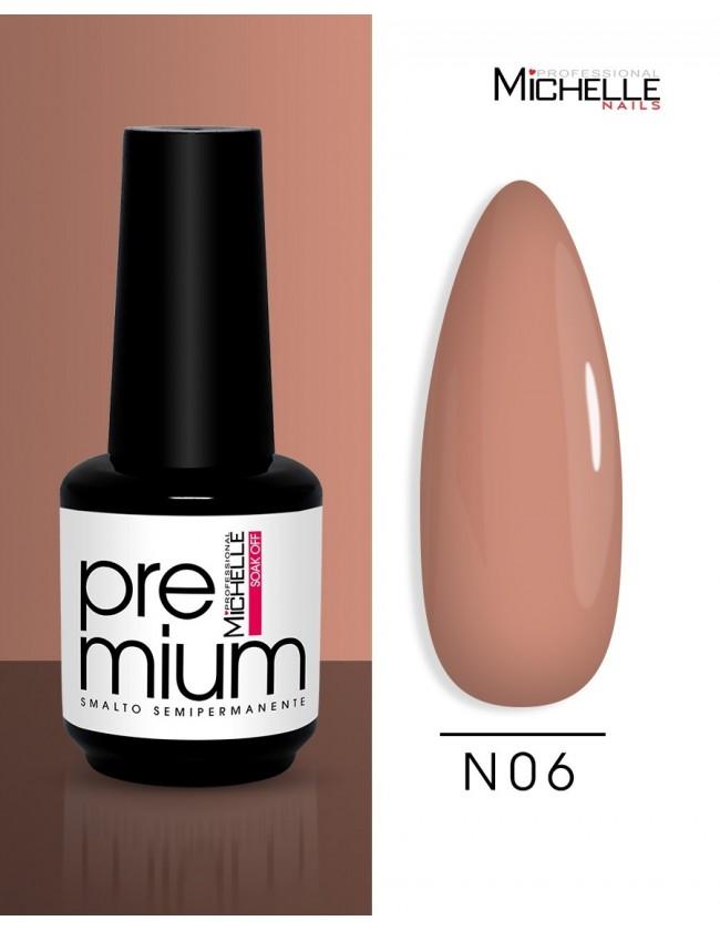 smalto semipermanente colore per unghie Michellenails Premium Smalto Semipermanente N06 - 15ml
