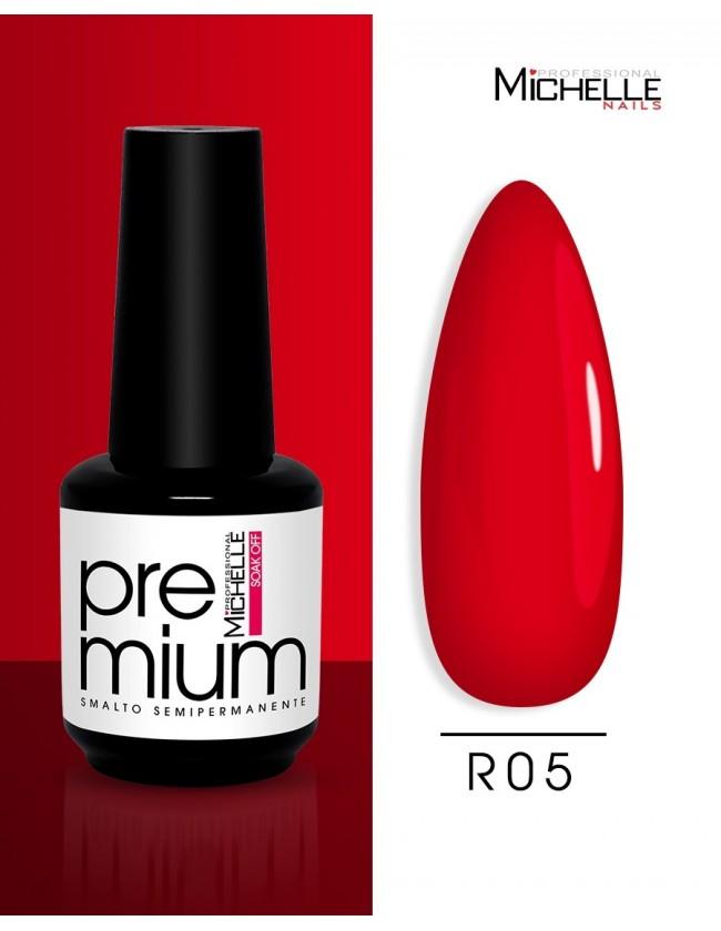 smalto semipermanente colore per unghie Michellenails Premium Smalto Semipermanente R05 - 15ml
