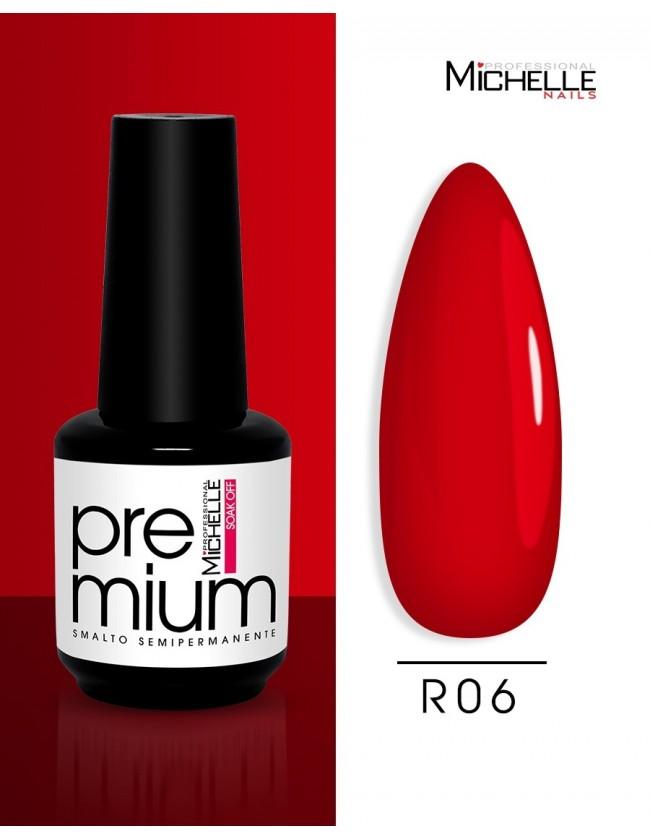 smalto semipermanente colore per unghie Michellenails Premium Smalto Semipermanente R06 - 15ml