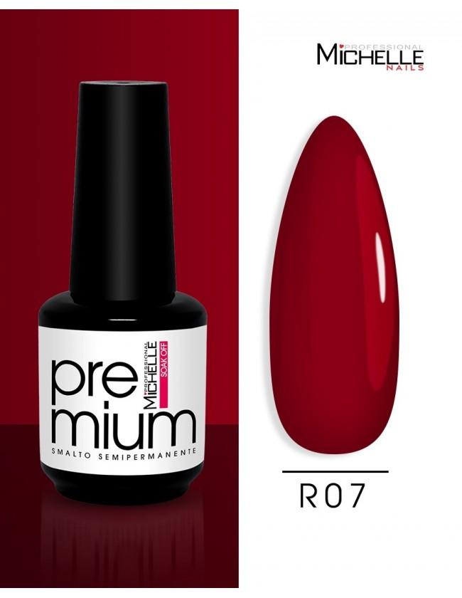 smalto semipermanente colore per unghie Michellenails Premium Smalto Semipermanente R07 - 15ml
