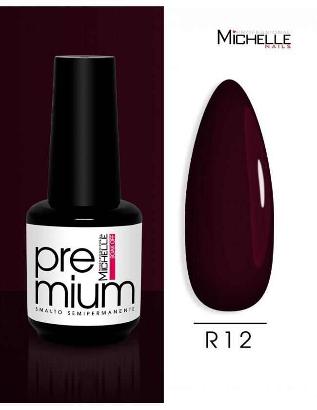 smalto semipermanente colore per unghie Michellenails Premium Smalto Semipermanente R12 - 15ml