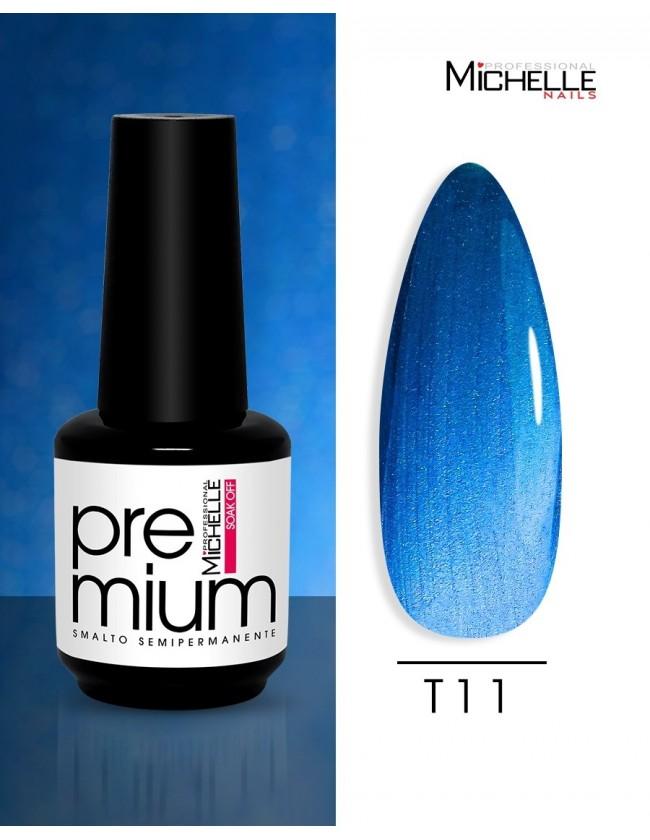 smalto semipermanente colore per unghie Michellenails Premium Smalto Semipermanente T11 - 15ml