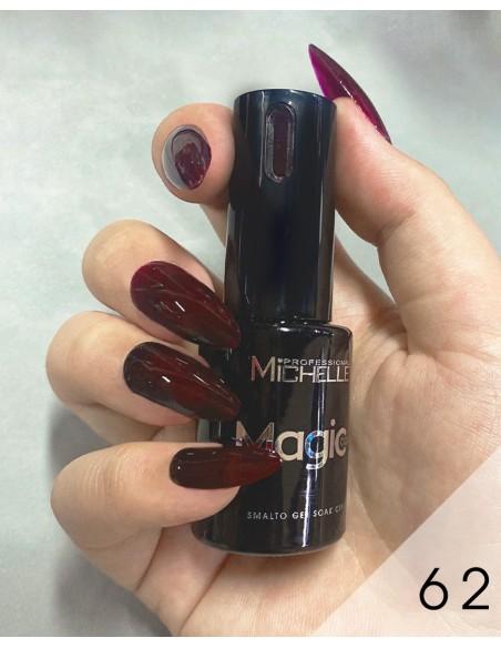 smalto semipermanente colore per unghie Michellenails MAGIC Color Semipermanente - 062