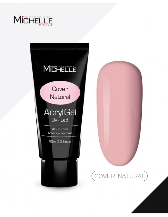 ricostruzione in acrygel o polygel: ACRYLGEL 60ML - COVER NATURAL Uso professionale