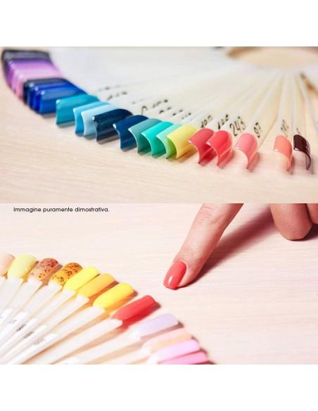 Accessori per unghie Espositore Tips ad Anello Naturale Mandorla - 50pz Uso professionale nails