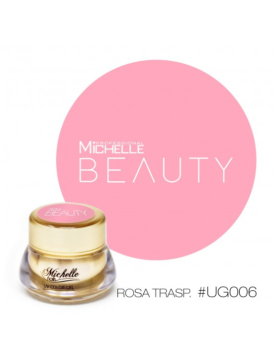 GOLD COLOR UV GEL - ROSA TRASPARENTE...
