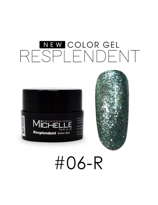 RESPLANDECIENTE - GEL DE COLOR UV - 8ML