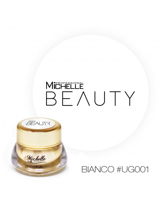 GOLD COLOR UV GEL - BLANCO UG001