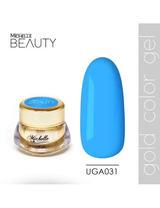 DE COLOR ORO GEL UV - UGA031