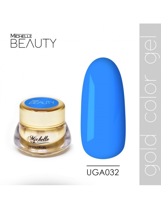 DE COLOR ORO GEL UV - UGA032