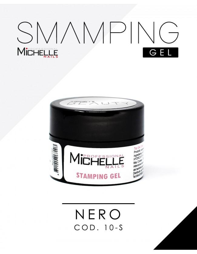 STAMPING GEL Nail ART - NERO 5ml
