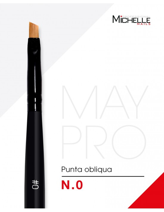Accessori per unghie Pennello MAY Pro - OBLI0 Uso professionale nails