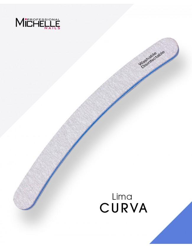 Accessori per unghie LIMA LONG-LIFE CURVA, LAVABILE - DOUBLE FACE Uso professionale nails