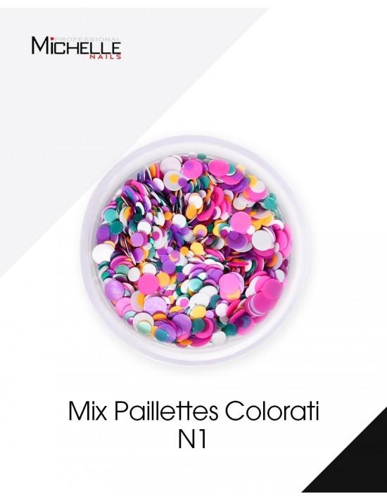 Paillettes Mix Colorati - H037