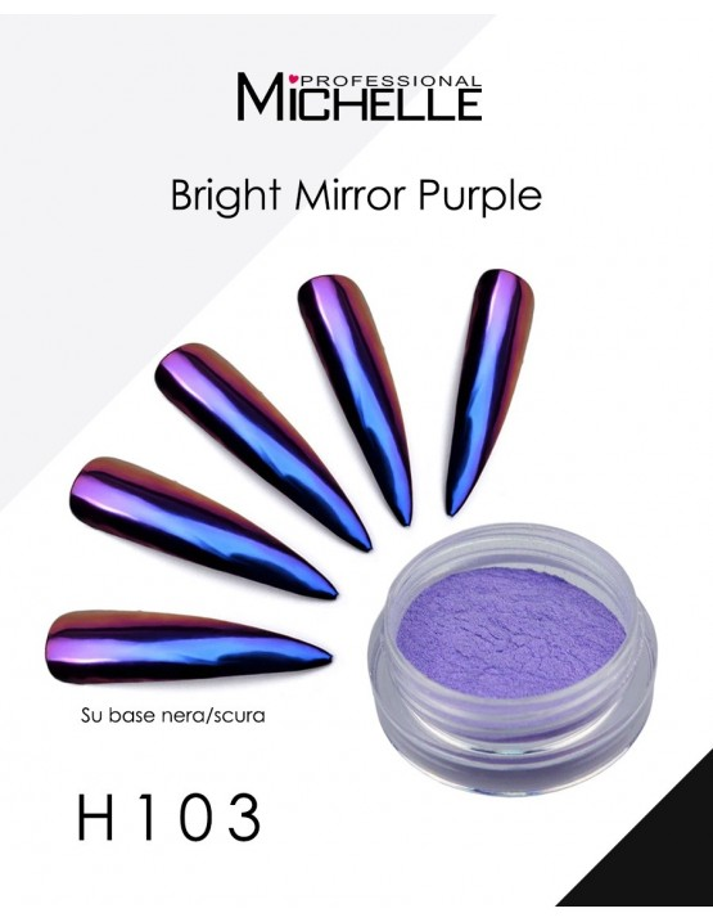POLVERE BRIGHT MIRROR - Purple