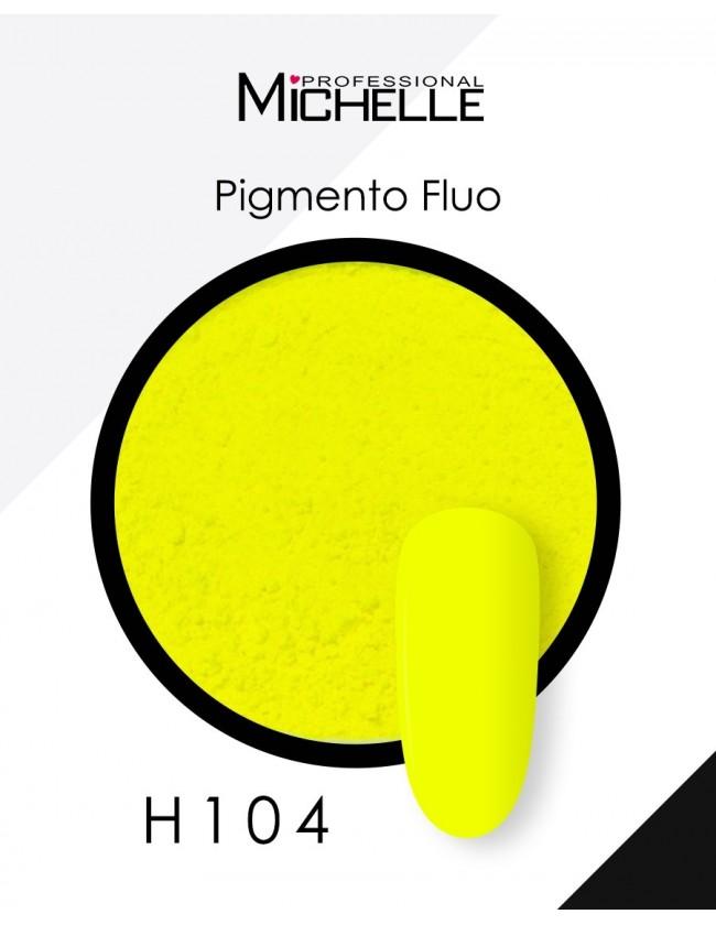Nail art e decorazioni per unghie: PIGMENTO FLUO - H104 giallo NAIL-ART/ Decorazioni