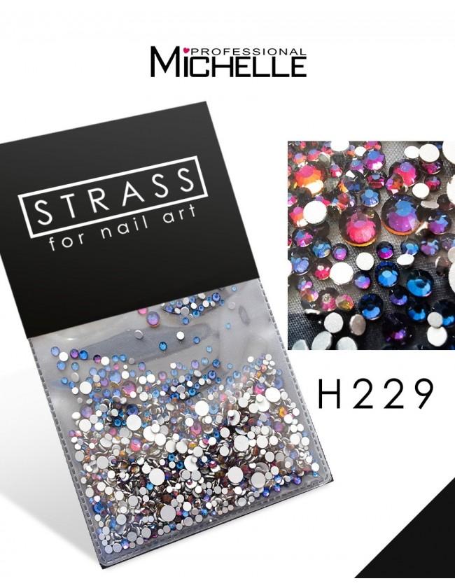 DECORAZIONE CRISTALLI STRASS H229