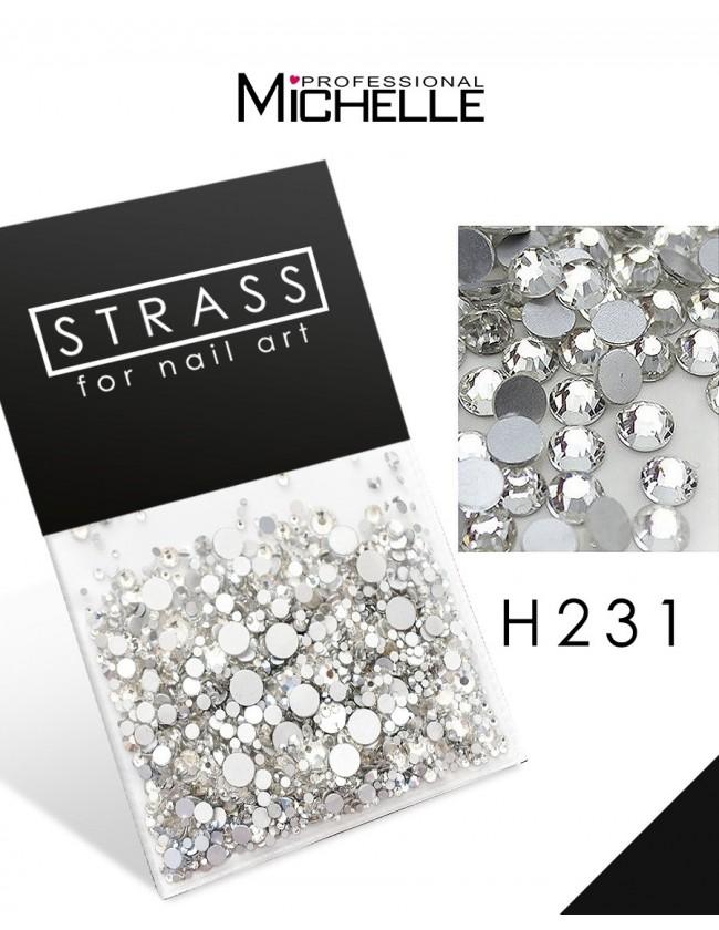 DECORAZIONE CRISTALLI STRASS H231