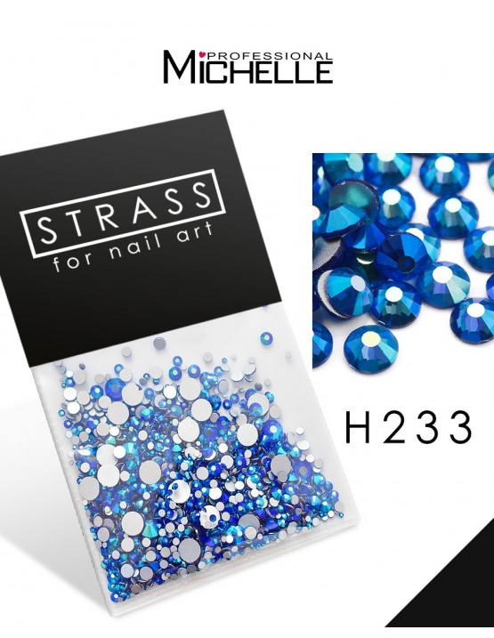 DECORAZIONE CRISTALLI STRASS H233