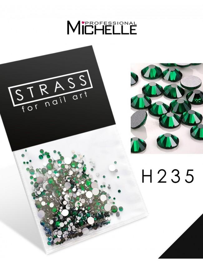 DECORAZIONE CRISTALLI STRASS H235
