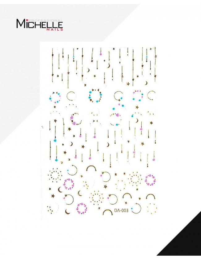 Nail art e decorazioni per unghie: ADESIVI STICKERS ST103 NAIL-ART/ Decorazioni