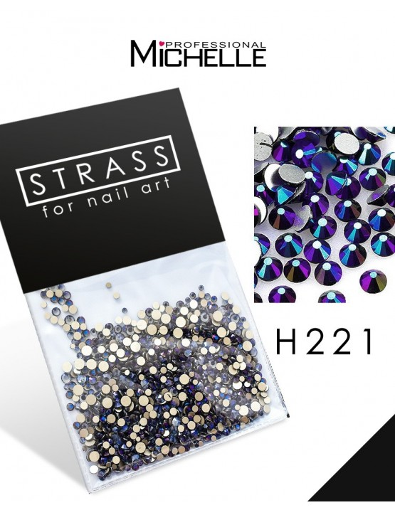 DECORAZIONE CRISTALLI STRASS H221