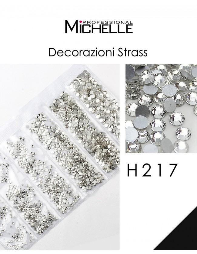 DECORAZIONE CRISTALLI STRASS H217