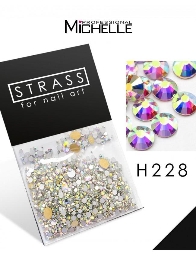 DECORAZIONE CRISTALLI STRASS H228
